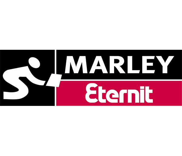 marley eternit black and red logo
